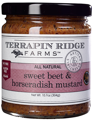Terrapin Ridge Sweet Beet and Horseradish Mustard